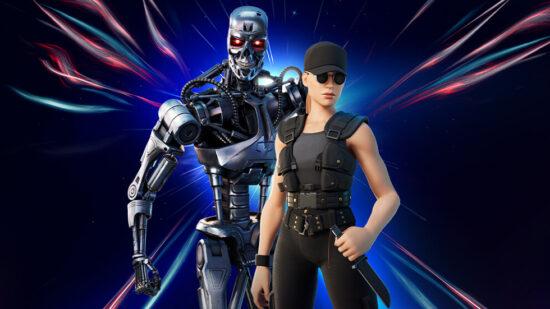 Sarah Connor & T-800 Fortnite
