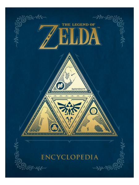 The Legend of Zelda Enciclopedia Merch Diggers
