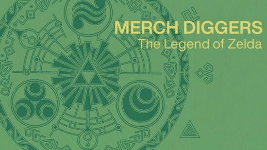 Merch Diggers The Legend of Zelda