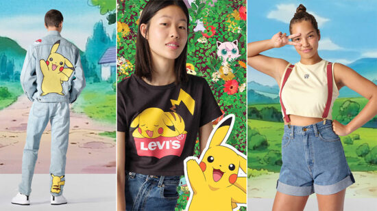 Pokemon Levi´s 25 Anniversary
