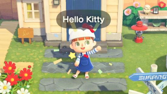 Sanrio Animal Crossing