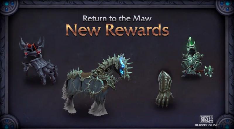 Recompensas nuevas en The Maw