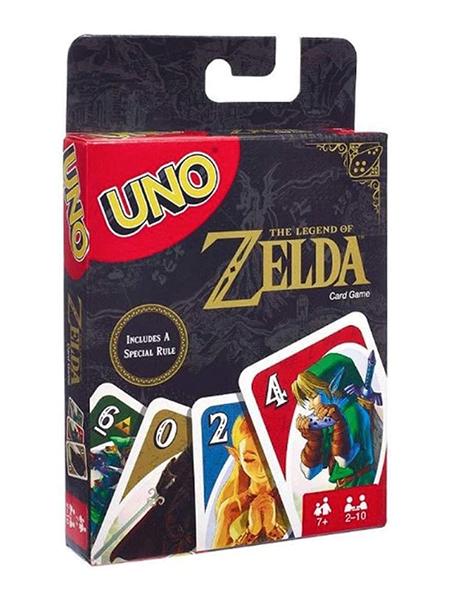 The Legend of Zelda Juego de Cartas Uno Merch Diggers