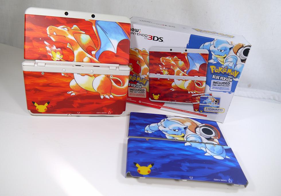 Nintendo 3DS Pokémon Red & Blue