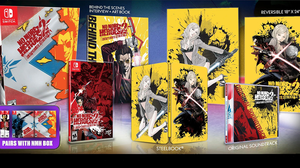 No More Heroes 2 Collector Edition