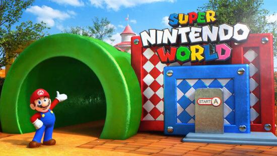 Super Nintendo World Grand Opening