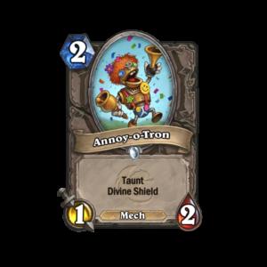 Carta de Hearthstone: Annoy-o-Tron