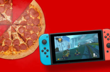Nintendo Switch Pizza