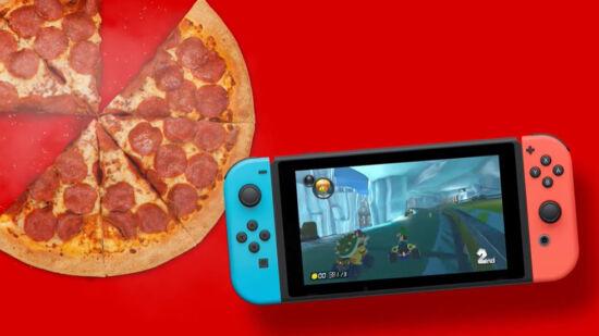 Nintendo Switch Pizza