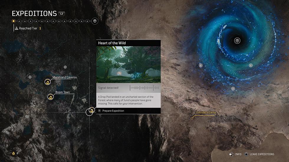 Reseña Outriders Endgame Expediciones