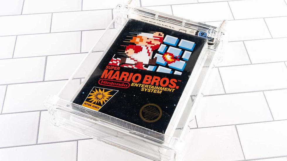 Super Mario Bros. Sellado