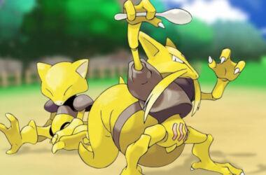 Pokemonas abra kadabra