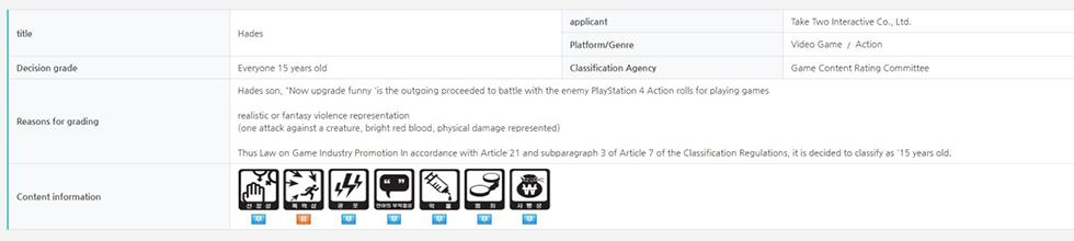 Hades PlayStation