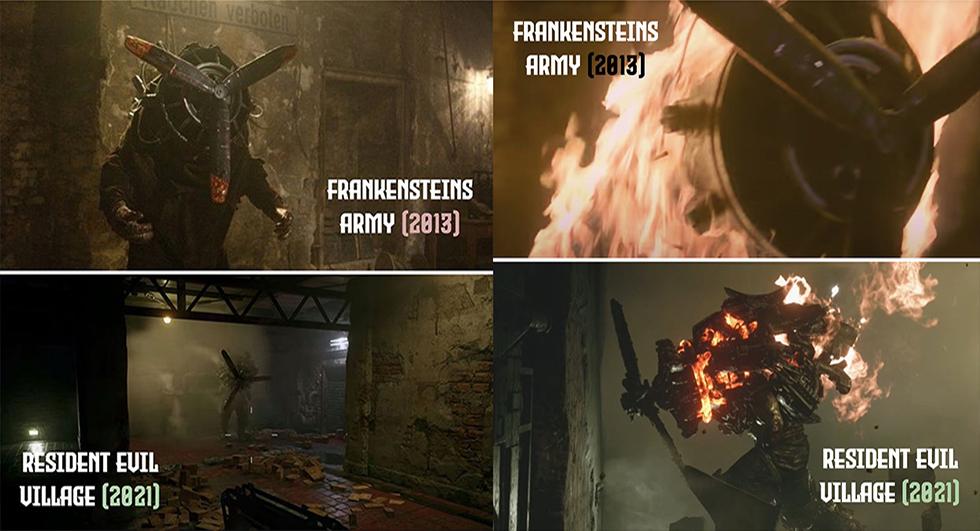 Resident Evil Village Plagio