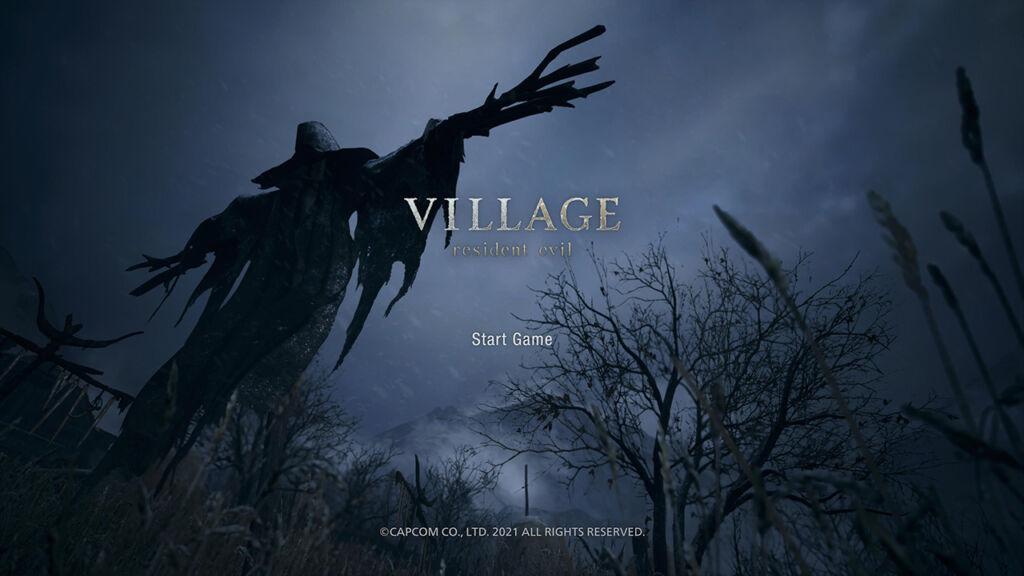 Resident Evil Village Start