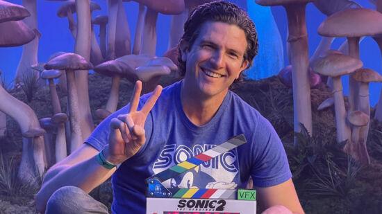 Sonic 2 filmación