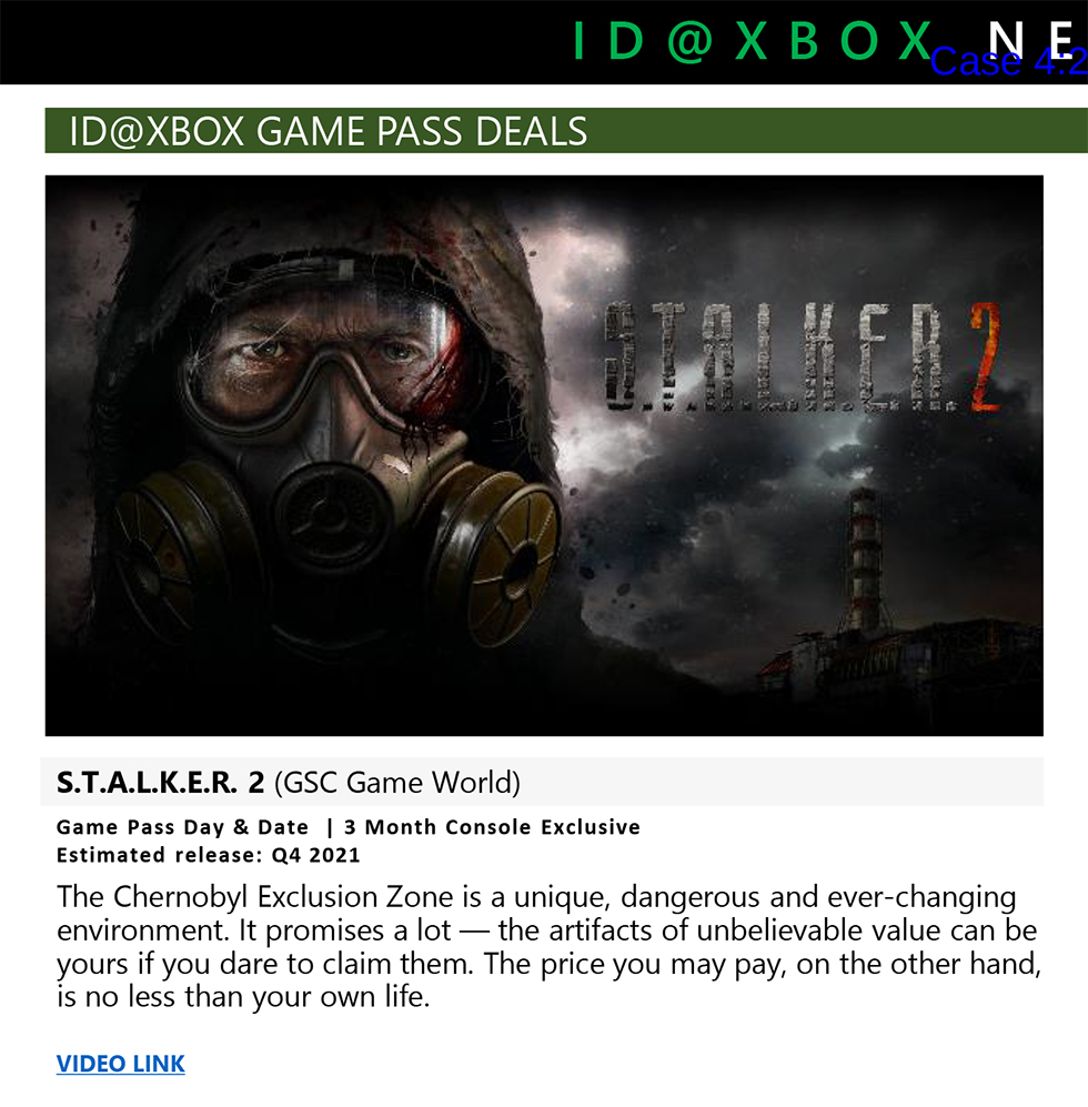 STALKER 2 Xbox