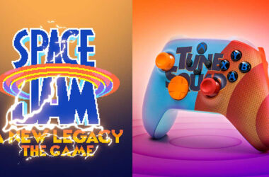 Space Jam Game & Controllers
