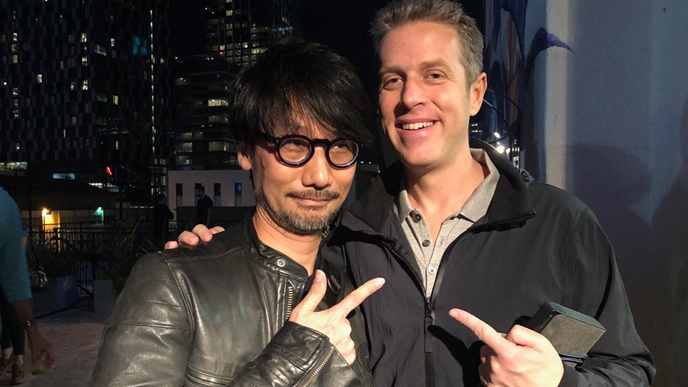 Hideo Kojima & Geoff Keighley