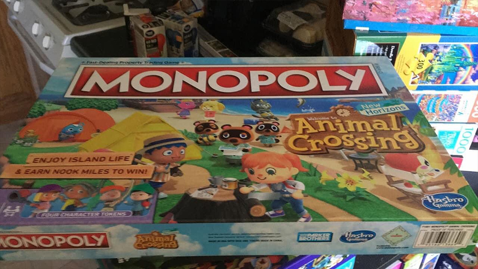 Monopoly Animal Crossing