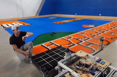 Robot Mural Super Mario