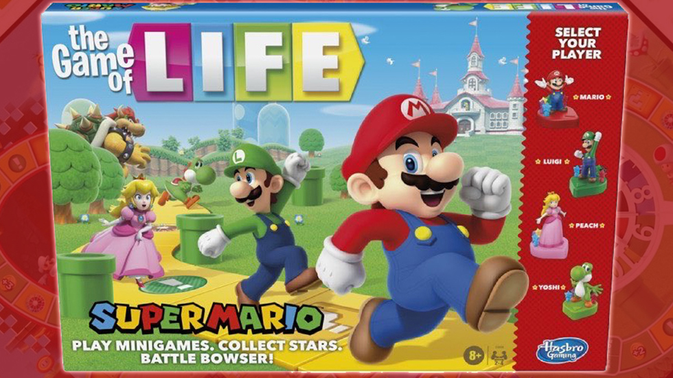 The Game of Life - Super Mario Edition