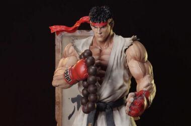 Estatua StreetFighter Ryu